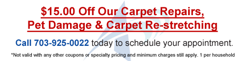 Carpet & rug cleaning deals | NOVA | Arlington VA | Fairfax