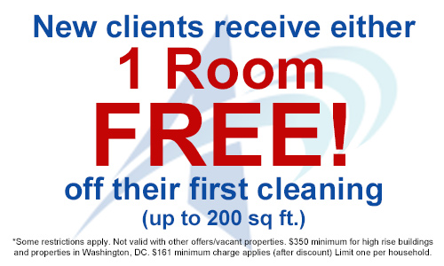 monthly carpet cleaning specials Northern Virginia