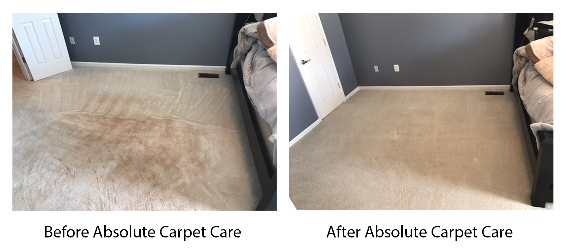 Absolute Carpet Care Before and After Pictures