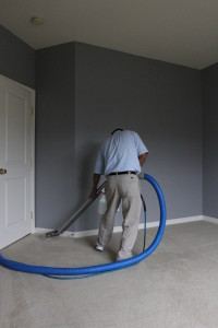 vacuuming corners